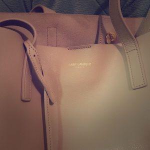 Large Yves Saint Laurent (YSL) tote bag